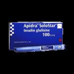 Insulin Apidra Solostar Pens 100 Units ml
