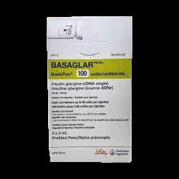 Insulin Basaglar Cartridge 5x3.0 ml 100iuml