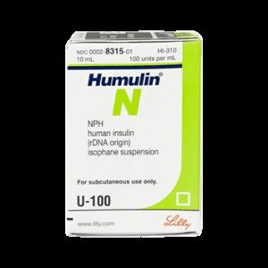 Insulin Humulin N KwikPens U-100