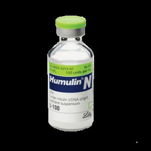 Insulin Humulin N Vial 100 Uml 10 ml