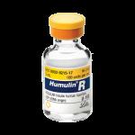 Insulin Humulin R Vial 100 Uml