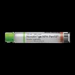 Insulin Novolin GE NPH PenFill Cartridge 5 x 3 ml