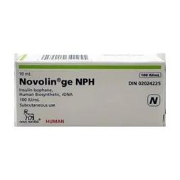 Insulin Novolin GE NPH Vial 10 ml