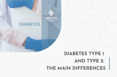Diabetes type 1 and type 2. The main differences